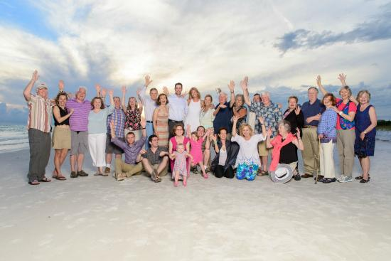 The Ringling Beach House - A Siesta Key Suites Property : Family Photo on Siesta Key