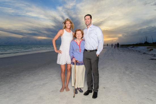 The Ringling Beach House - A Siesta Key Suites Property : Grandma 85 years old Siesta Key Beach Photo