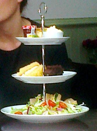 Marmalade : three tier tea. as delicious as it looks!