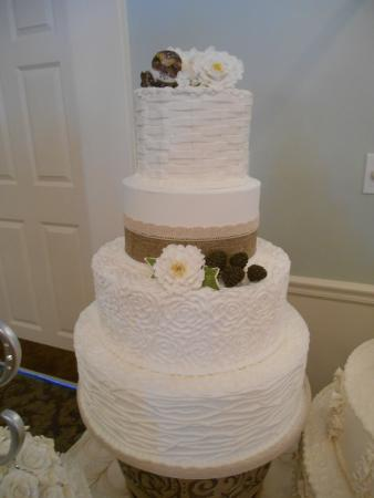 Cakes For All Occasions: Rustic Wedding Cake