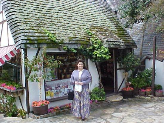 outside The Cottage of Sweets- Carmel