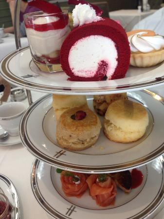Harrods Tea Room At Central Embassy Bangkok Picture Of
