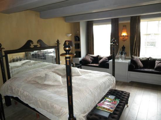 Suitehotel Restaurant Posthoorn: Slaapkamer