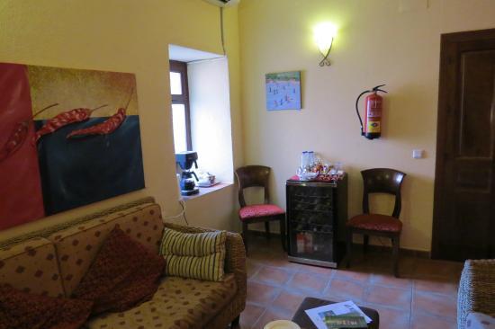 Hotel Molino del Puente Ronda: sitting room