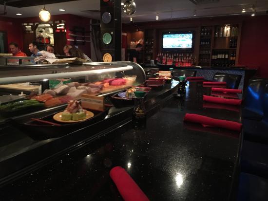 Great Hy Hour Review Of Ninja Spinning Sushi Bar Boca Raton Fl Tripadvisor
