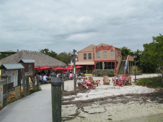 Barnacle Restaurant : View from the Pier