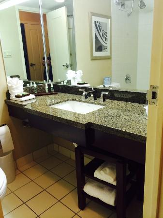Hotel Fort Wayne: Bathroom
