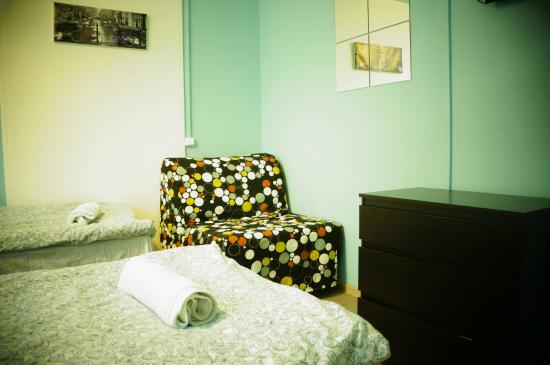 Hostel Krysha: Двухместный стандарт 2+1