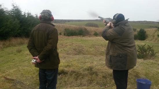 Minsterley, UK: A great place. Prices of clays and cartridges were about half what we pay down South!