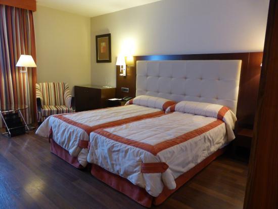 Hotel Mirador de Gredos: Dormitorio, descanso