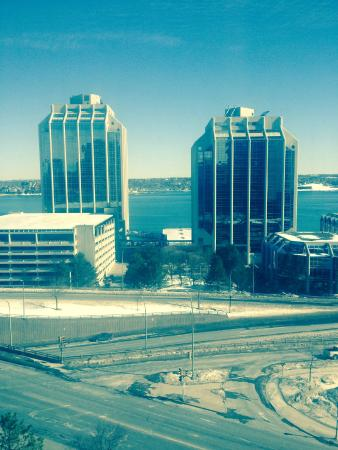 Delta Halifax: View from room 301