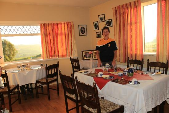 Freshford, Irlandia: Wonderful breakfasts served in a bright, inviting dining room