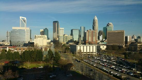 Sheraton Charlotte Hotel: View from Room 1024