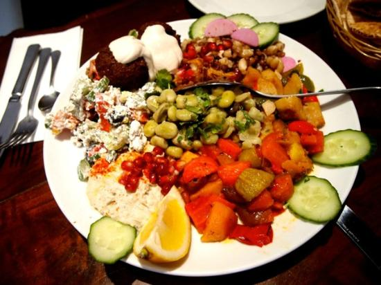 Fresco, Fresh Juices and Lebanese Cuisine: Mixed Mezze Plate