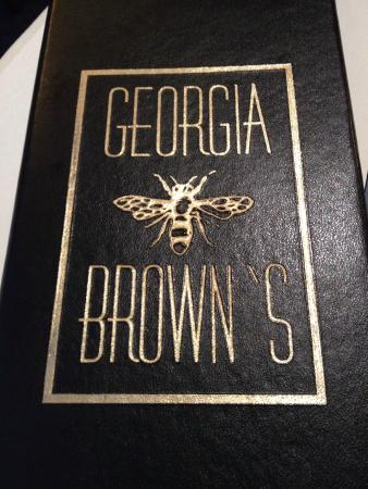 Georgia Brown's : Love the bee on the logo.