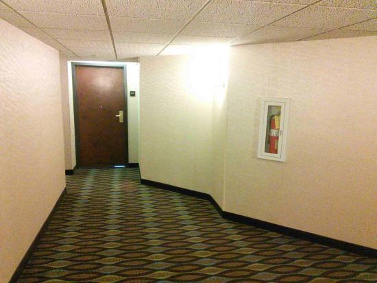 Drury Inn & Suites Atlanta Airport: Light corridors