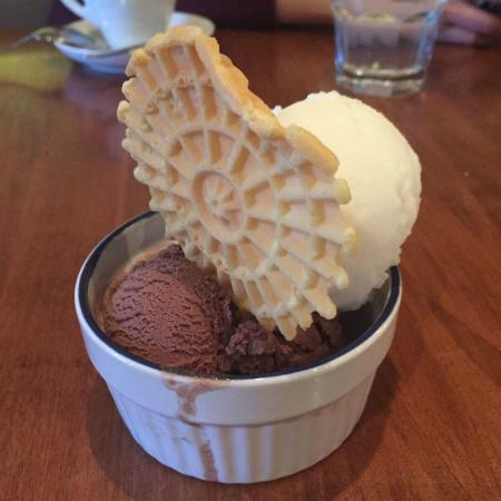 Buon Gusto : Lemon and Chocolate Gelato