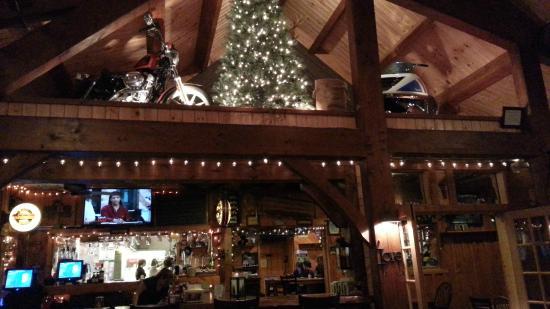 Pine Junction: Nice Displays in the Loft on Feb 2015 night