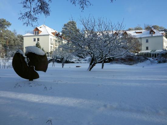 Mittenwalde, Tyskland: Residenz Motzen im Winter