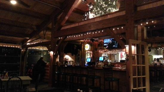 Pine Junction: New Bar and Dining area Feb. 2015