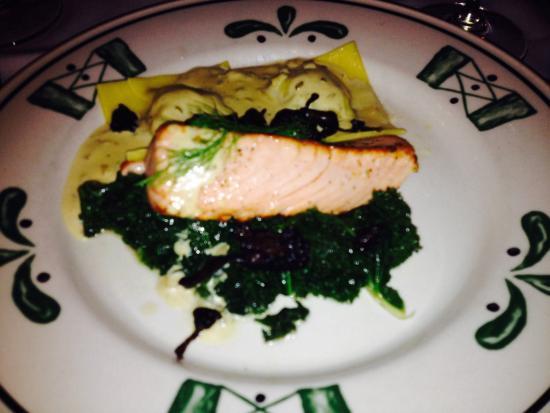 Gianmarco's: Salmon two ways