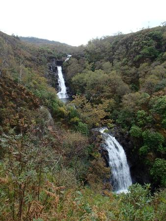 Inchree Waterfalls