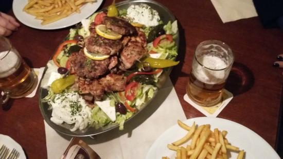 Mixed grill at Taverna Ouzeri :)