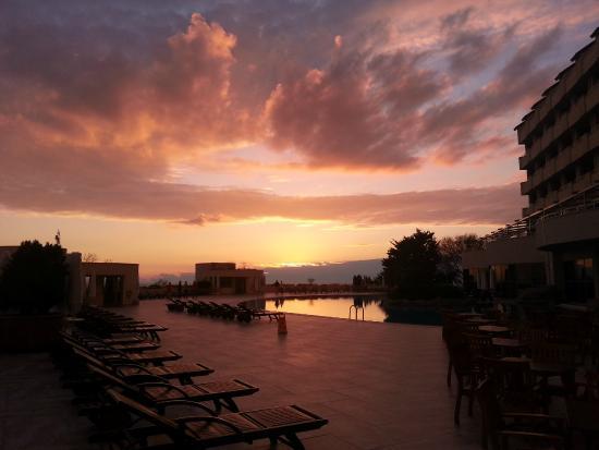 Melas Resort Hotel: A veiw over the outdoor pool area...