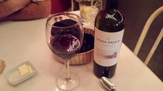 Cafe Zack: nice wine list