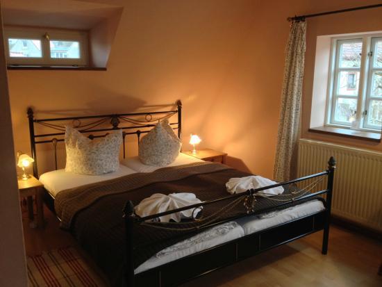 Hexenhaus: Schlafbereich des Zimmers (DG 7)