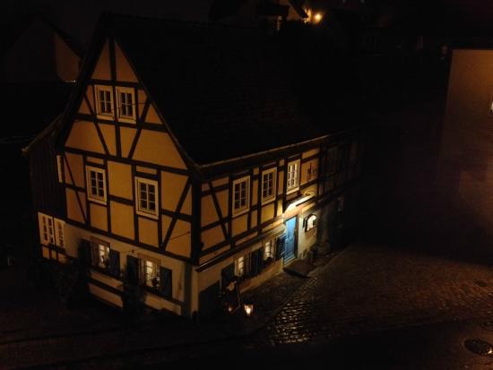 Blick auf das Hexenhaus
