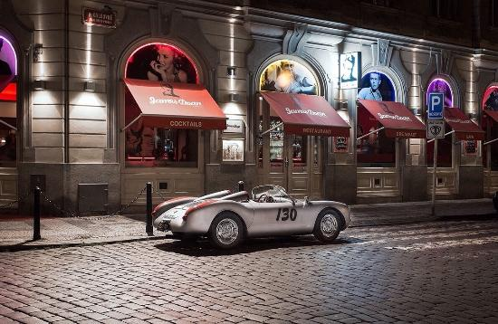 james dean prague porsche spyder