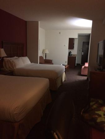 Holiday Inn Express Hotel & Suites Dyersburg: The room