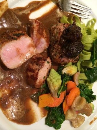 Hotel Laurentius: Delicious dinner!