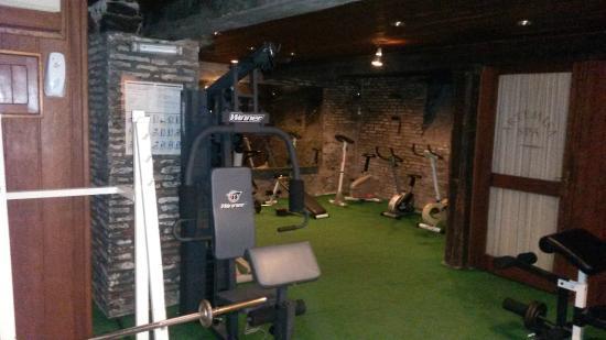 Hotel Esperanza & Artemisa Spa: gym