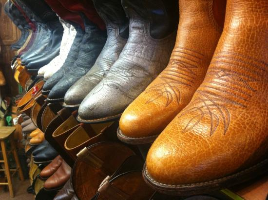 Voted 1 place to buy cowboy boots in Santa Fe! - Picture of
