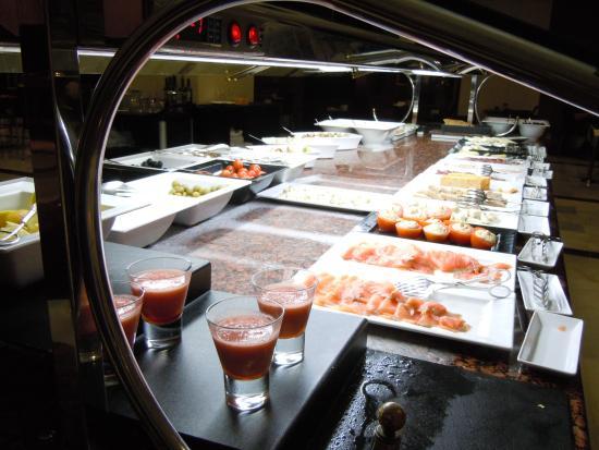 buffet photo de melia costa del sol torremolinos. Black Bedroom Furniture Sets. Home Design Ideas