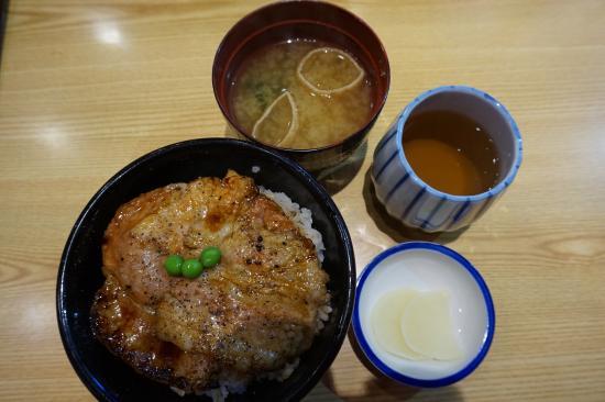 Butadon no Butahage, Obihiro Honten: Grilled pork rice