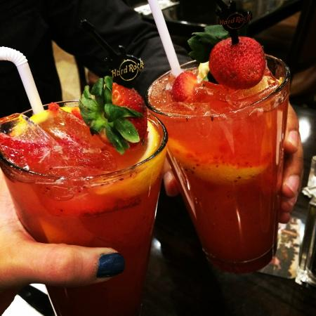 Strawberry Basil Lemonade Hard Rock Cafe