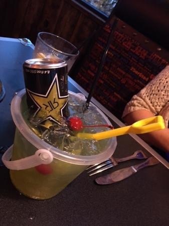 Dont Fear the Reaper Bucket drink at the Rock - Picture of