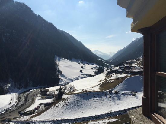 Hotel Edelweiss-Schloessl: perfektes Panorama