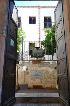 Oratorio di San Lorenzo: Вход