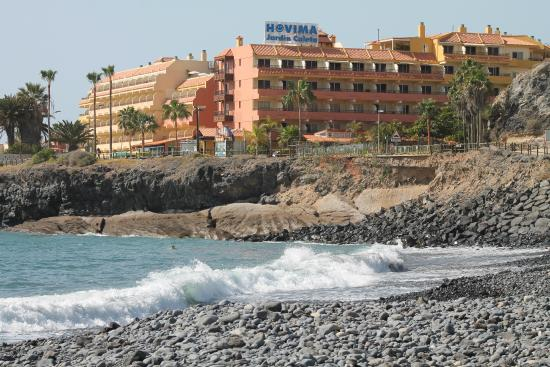 Sea view from our room 3rd floor picture of hovima for Caleta jardin tenerife