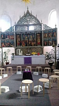 St. Martin Kirche: Altar.
