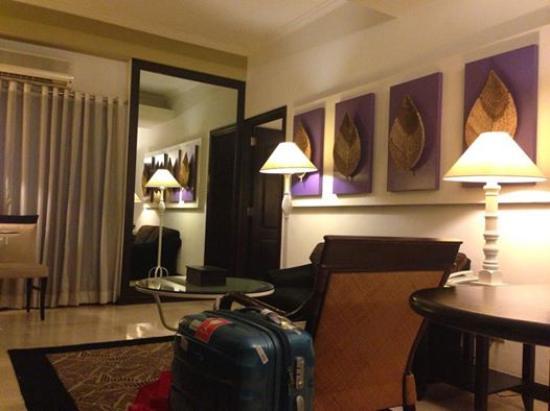 Vivere Hotel : Tv room