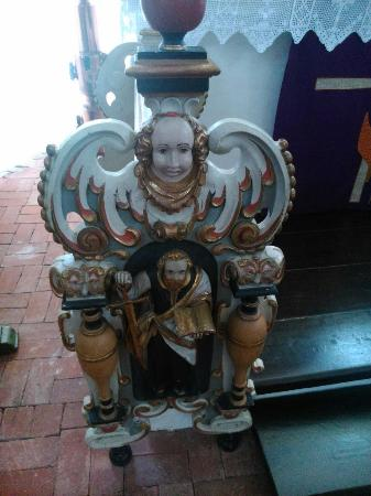 Sande, Niemcy: Altarfiguren.