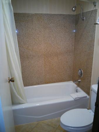 Comfort Inn at Irvine Spectrum: bath