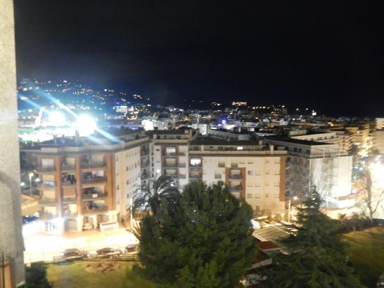 Hotel Samba : la vue le soir