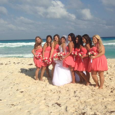 Beach Wedding Photos Hyatt Zilara