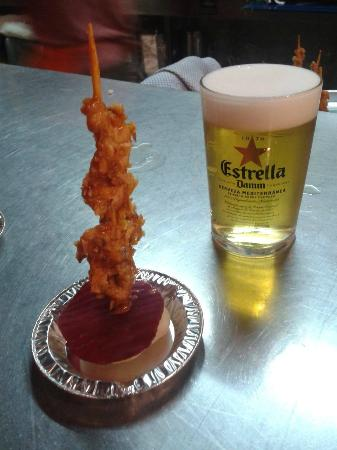 Restaurante Fantastico: tapa